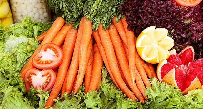 beta carotene vegetables
