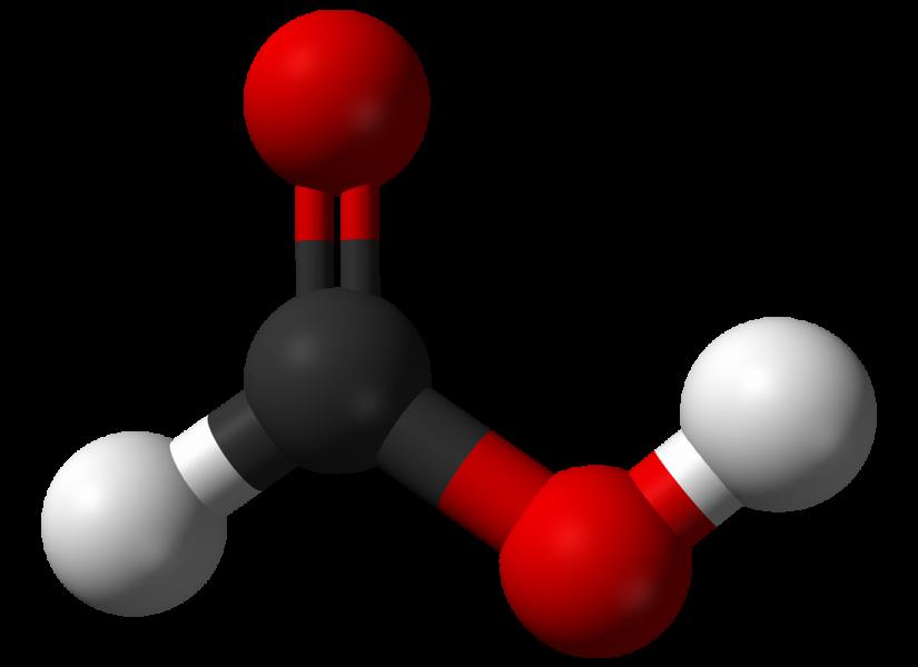 formic acid 3d structure