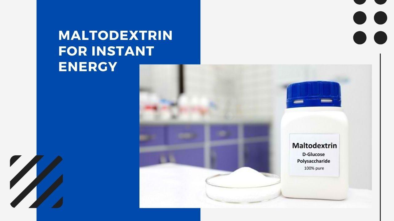 maltodextrin in energy gel - blog banner