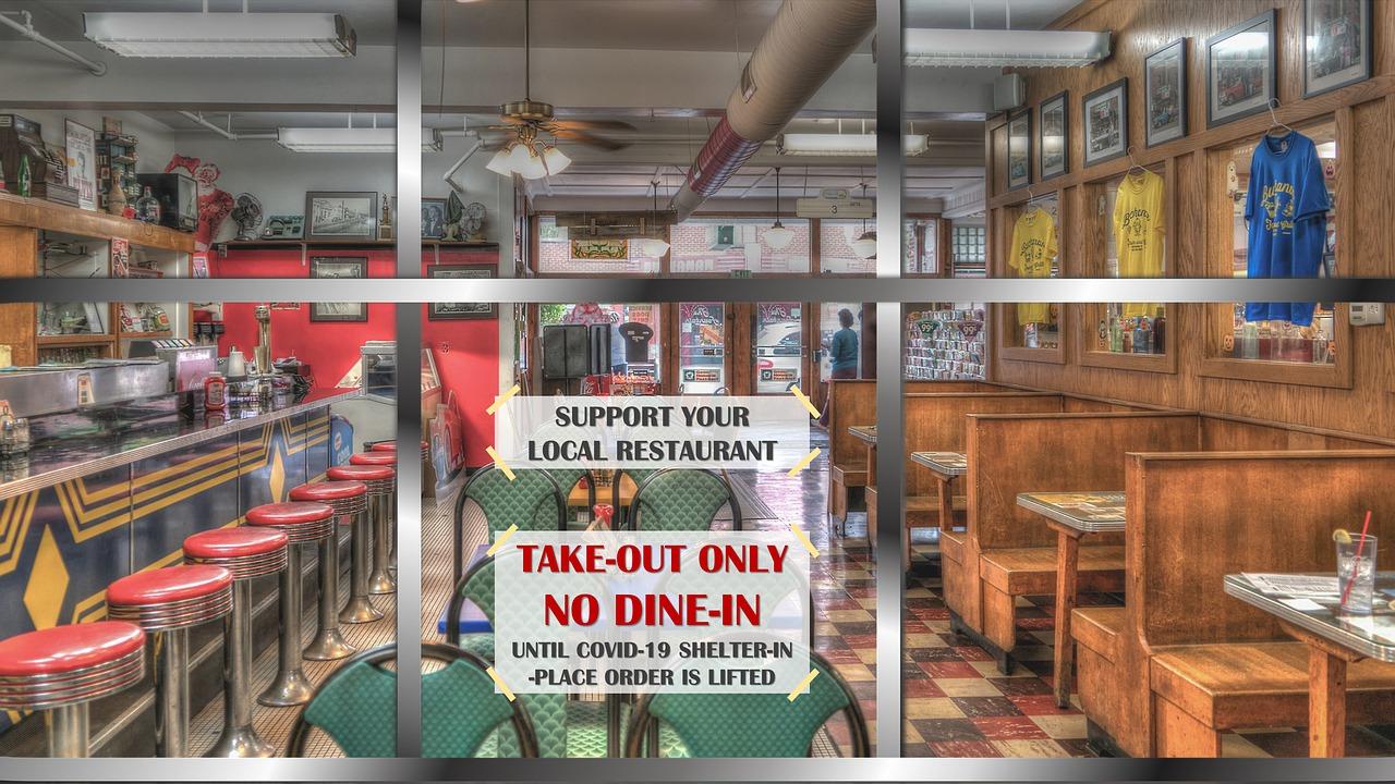 covid-19 effect on restaurant - blog banner